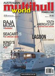 Multihull World Magazine # 119 issue Multihull World Magazine # 119