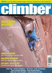 Climber April 13 issue Climber April 13