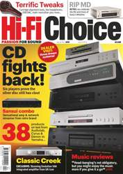 Hi-Fi Choice April 2013 issue Hi-Fi Choice April 2013