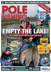 Pole Fishing April 2013 issue Pole Fishing April 2013