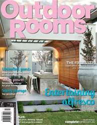 Outdoor Rooms Magazine Cover