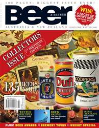 Beer and Brewer Magazine Cover