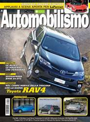 Automobilismo 4 2013 issue Automobilismo 4 2013