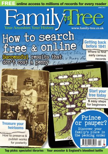 Family Tree Digital Issue