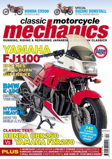 Classic Motorcycle Mechanics International Magazine Centre