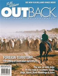 OUTBACK 88 issue OUTBACK 88