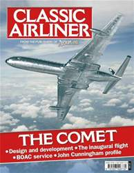 Classic Airliner The Comet issue Classic Airliner The Comet