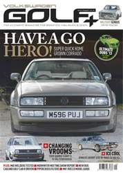 Volkswagen Golf + Magazine Cover