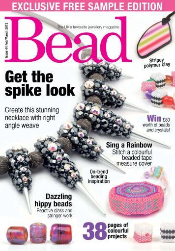Bead Magazine Bead Free Sample Issue Subscriptions Pocketmags