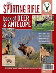 SR Book of Deer and Antelope issue SR Book of Deer and Antelope