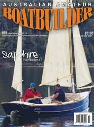Australian Amateur Boat Builder Magazine Cover