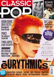 Classic Pop Magazine Cover