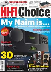 Hi-Fi Choice May 2013 issue Hi-Fi Choice May 2013