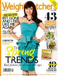 Weight Watchers May 2013 issue Weight Watchers May 2013