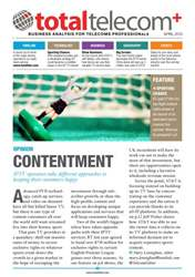 Total Telecom Plus April 2013 issue Total Telecom Plus April 2013