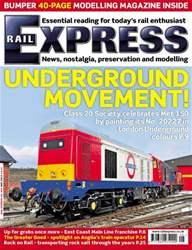 Rail Express Magazine Cover