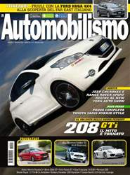Automobilismo 5 2013 issue Automobilismo 5 2013