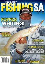 Fishing SA AprilMay 2013 issue Fishing SA AprilMay 2013