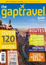 The Gap Travel Guide 2013 issue The Gap Travel Guide 2013