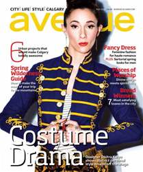 Avenue Calgary Magazine Cover