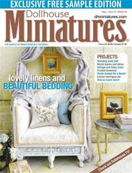 Dollhouse Miniatures Magazine Cover