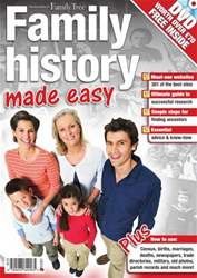 Family History made easy issue Family History made easy