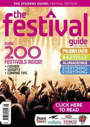 The Festival Guide 2013 issue The Festival Guide 2013