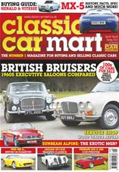 Classic Car Mart Magazine Cover