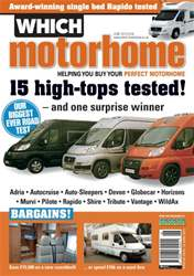 Which Motorhome June 2013 issue Which Motorhome June 2013