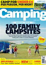 Family campsites special June13 issue Family campsites special June13