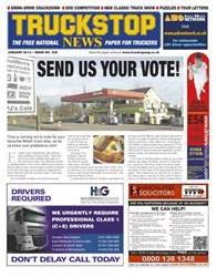 Truckstop News Issue 305 issue Truckstop News Issue 305