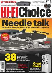 Hi-Fi Choice June 2013 issue Hi-Fi Choice June 2013