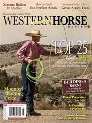 Western Horse Review Magazine Cover