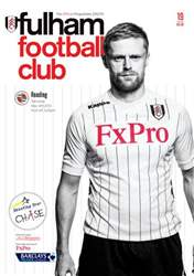 Fulham v Reading issue Fulham v Reading