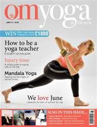 OM Yoga Magazine Magazine Cover