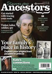 Discover Your Ancestors Magazine Cover
