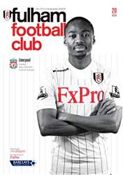 Fulham v Liverpool issue Fulham v Liverpool