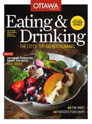 EATING & DRINKING 2013 issue EATING & DRINKING 2013