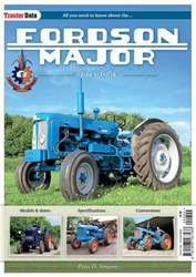 Tractor Data: Fordson Major issue Tractor Data: Fordson Major