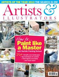 Artists & Illustrators July 2013 issue Artists & Illustrators July 2013