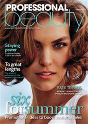 Professional Beauty June 2013 issue Professional Beauty June 2013