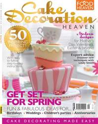 Cake Decoration Heaven Spring 13 issue Cake Decoration Heaven Spring 13