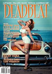 Deadbeat Magazine Cover