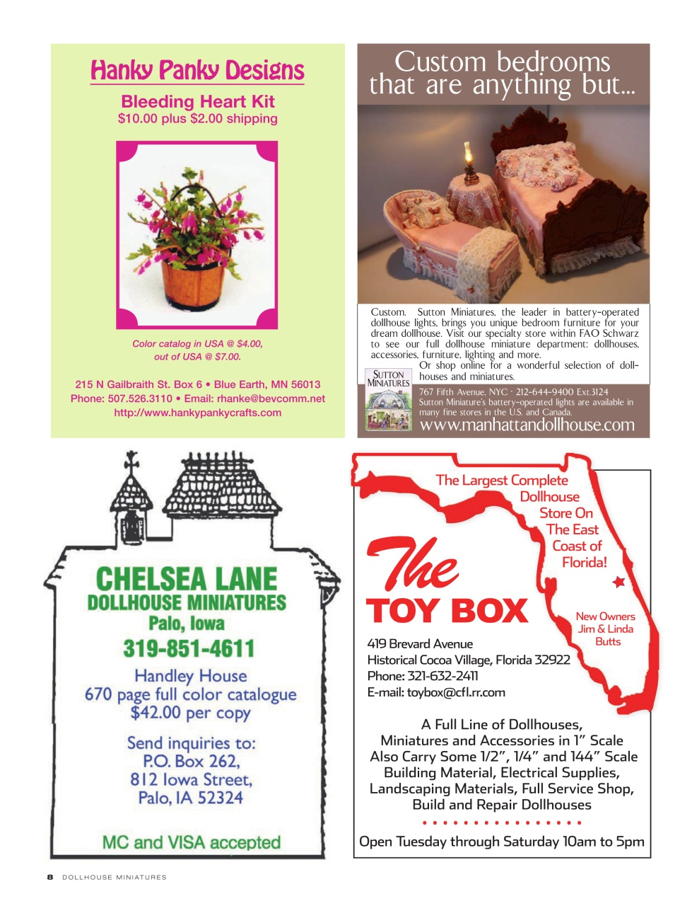 Dollhouse Miniatures Magazine Issue 34 Subscriptions Pocketmags