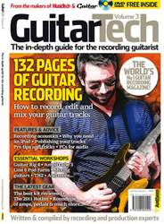 Guitar Tech V3 Magazine Cover