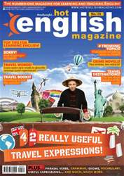 Learn Hot English Magazine Cover