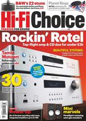 Hi-Fi Choice July 2013 issue Hi-Fi Choice July 2013