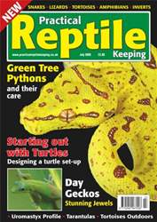 No.2 UromastyxGreen Tree Python issue No.2 UromastyxGreen Tree Python
