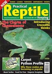 No.4 Chameleons & Carpet Pythons issue No.4 Chameleons & Carpet Pythons