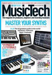 July 2013 Master Your Synths issue July 2013 Master Your Synths